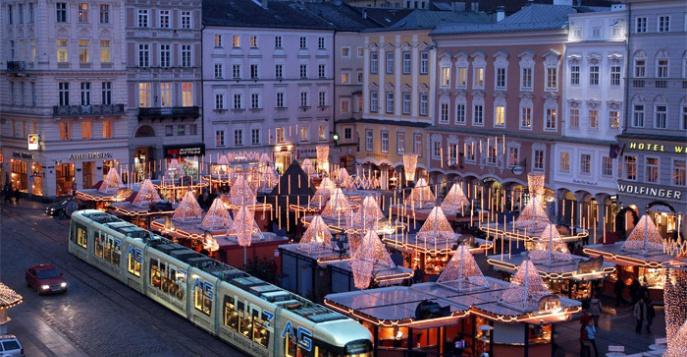 Новогодние туры в Австрию в Линц