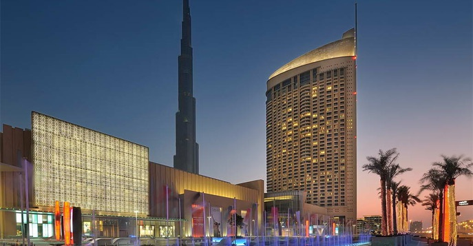 Отель The Address Dubai Mall 5*