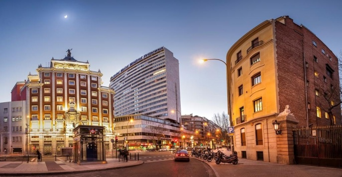 Отель The Meliá Madrid Princesa Hotel 5*