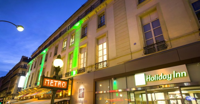 Отель Holiday Inn Paris Opéra Grands Boulevards 4*