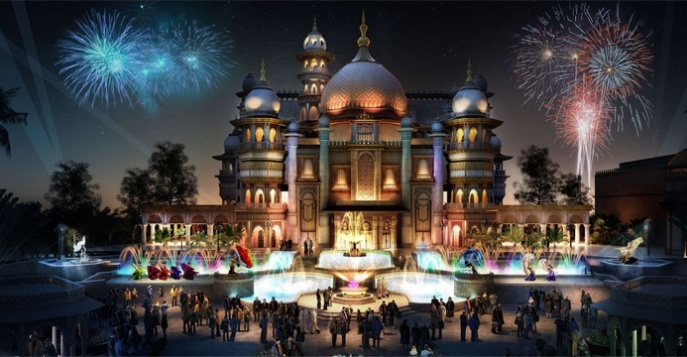 Парк развлечений Dubai Parks and Resorts в Дубае