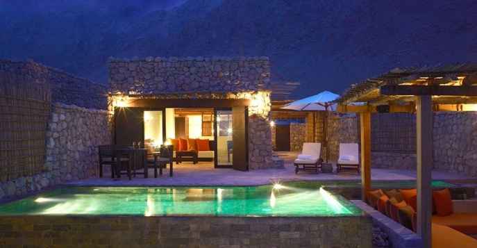 Отель Six Senses Zighy Bay 5* Deluxe