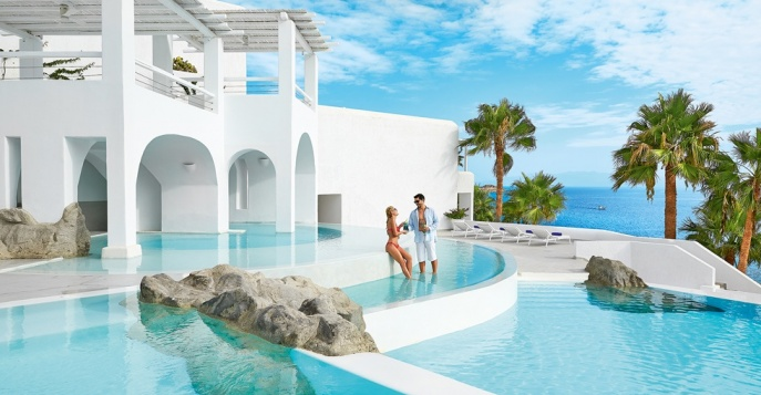 Отель Mykonos Blu Grecotel Exclusive Resort 5*