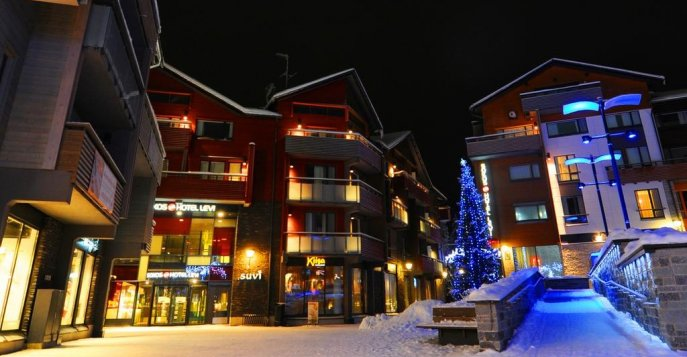 Отель Break Sokos Hotel Levi 4* - Леви, Финляндия