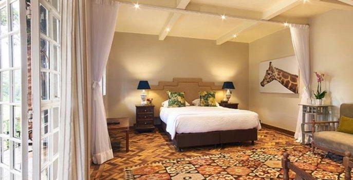 Lynn Superior room, Эксклюзивный бутик-отель Giraffe Manor - Найроби, Кения