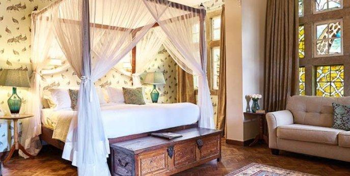 Edd Superior room, Эксклюзивный бутик-отель Giraffe Manor - Найроби, Кения
