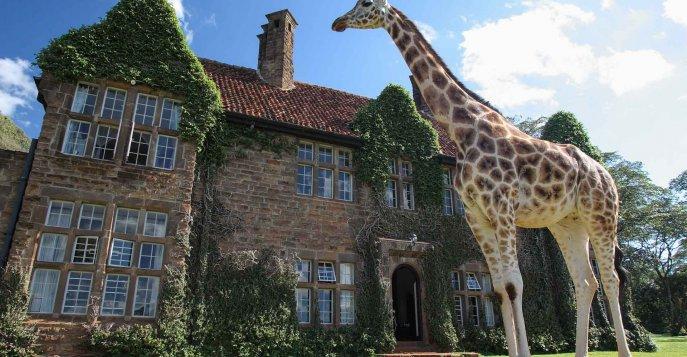 Эксклюзивный бутик-отель  Giraffe Manor - Найроби, Кения