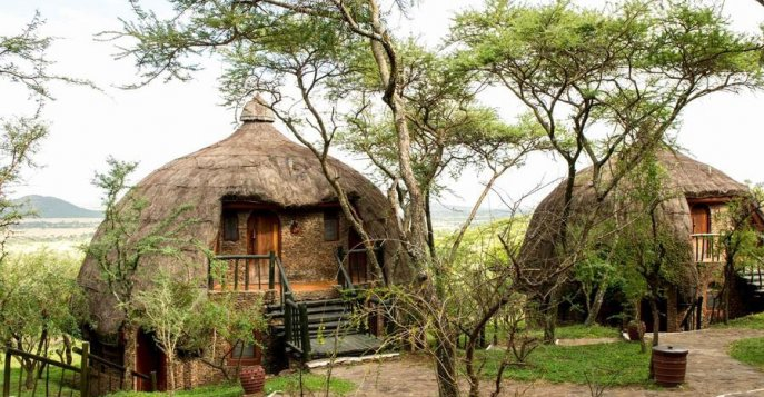 Отель Serengeti Serena Safari Lodge 4*