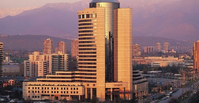 Отель Grand Hyatt Santiago 5*