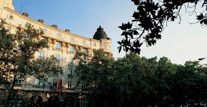 Отель Ritz Madrid