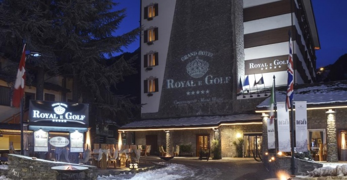 Отель Grand Hotel Royal & Golf 4*