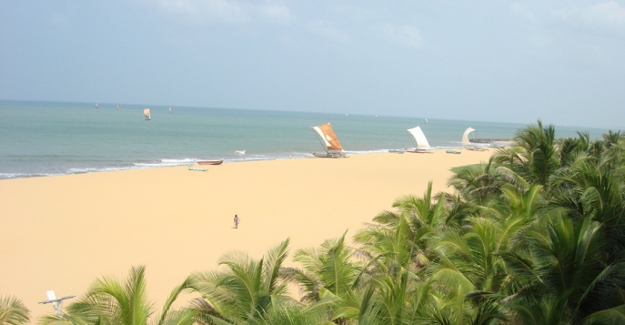 картинка фотография курорта Негомбо на Шри-Ланке