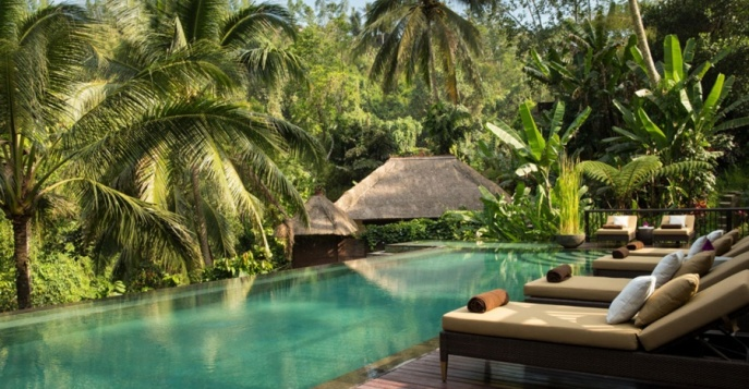 Отель Ubud Hanging Gardens boutique 5*