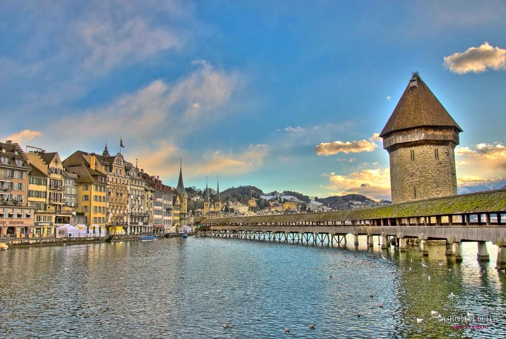 люцерна швейцария фото