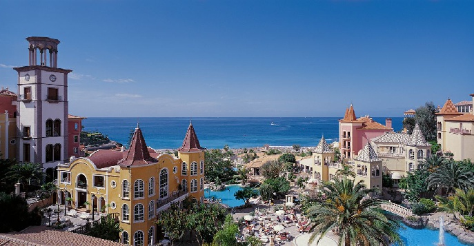 Отель Bahia Del Duque Resort Gran Hotel 5*