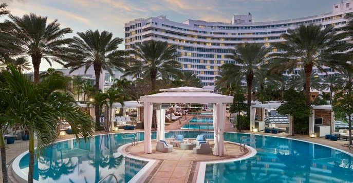 Отель Fontainebleau Miami Beach 5* Deluxe