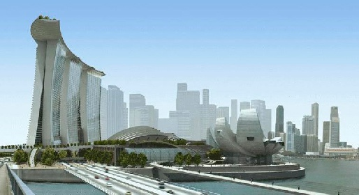 Marina Bay Sands - Сингапур