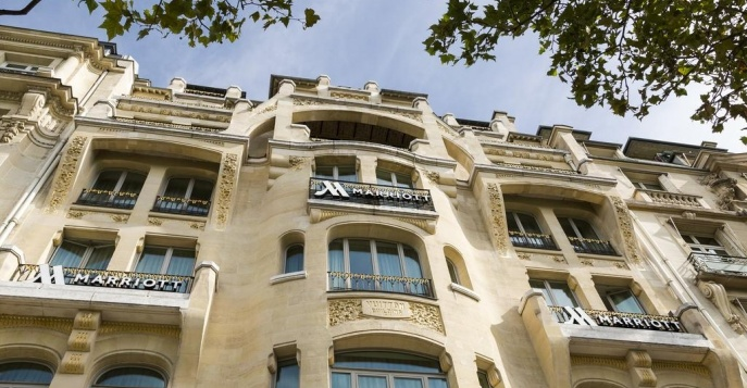 Отель Marriott Champs Elysees 5*