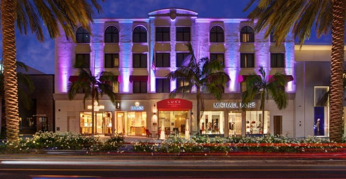 Отель The Luxe Hotel on Rodeo Drive 5*