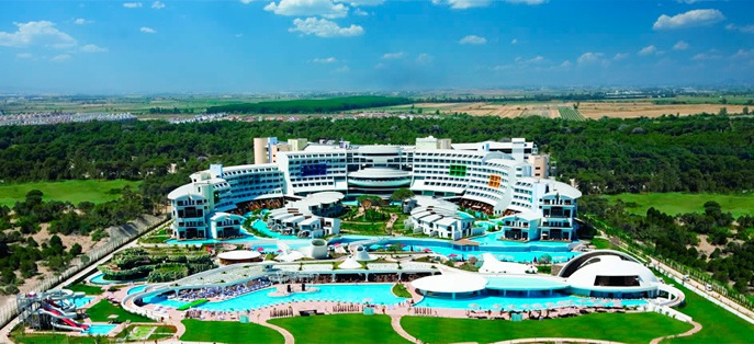 Виллы в отеле Cornelia Diamond Golf Resort & SPA 5*