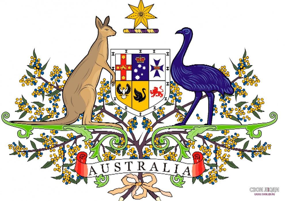 Герб Австралии  официальный символ государства  Всё про