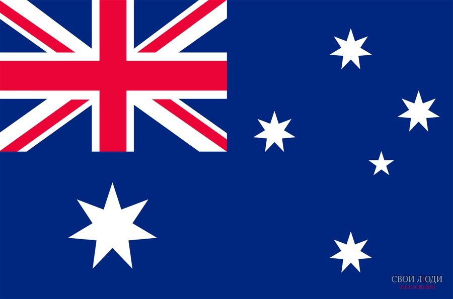 австралия фото флаг