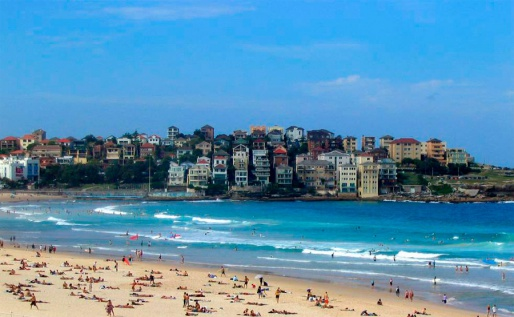 Bondi Beach, Австралия