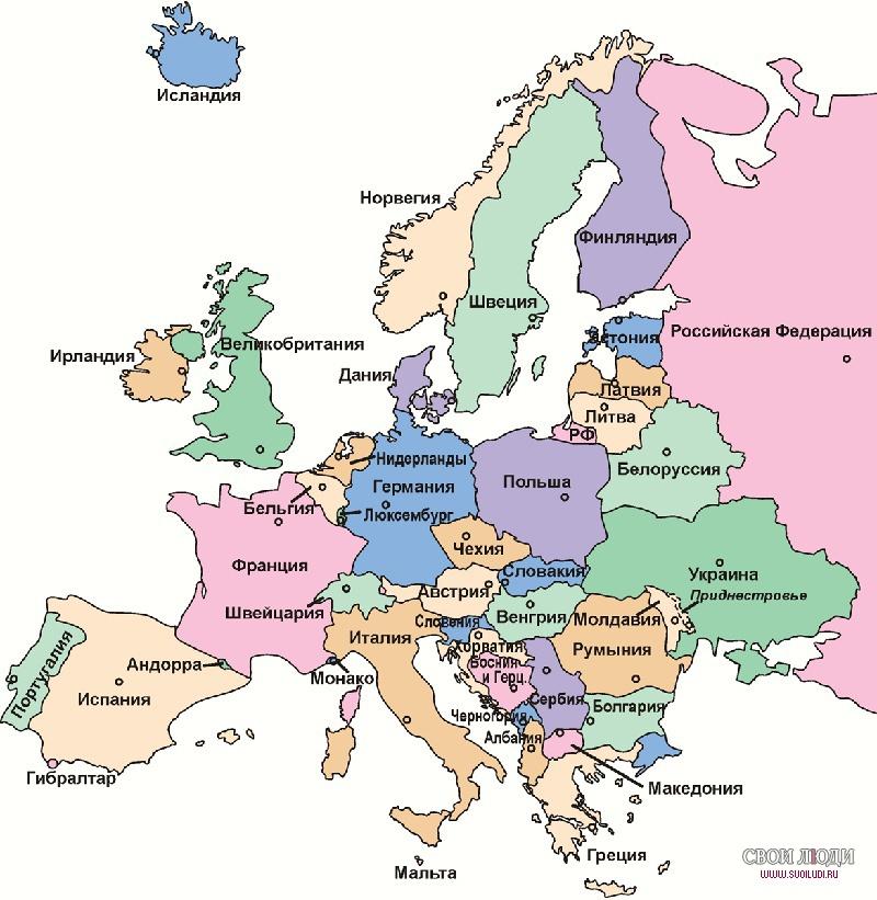 Knyazhestvo Monako Tochka Na Karte Evropy Monako Na Karte Mira I