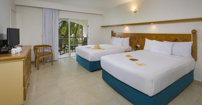 Отель Beachscape Kin Ha Villas Cancun Resort 4* - Канкун, Мексика