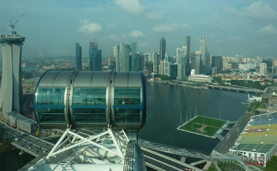 фото колесо обозрения в сингапуре