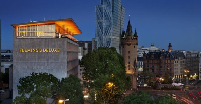 Отель Fleming´s Deluxe Frankfurt-City 5*