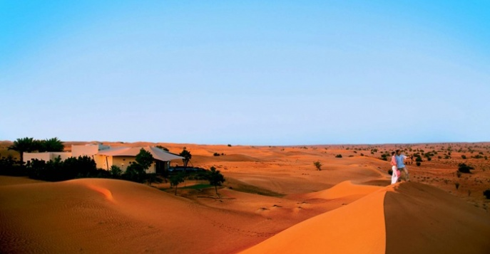 Отель Al Maha Desert Resort & Spa 5*