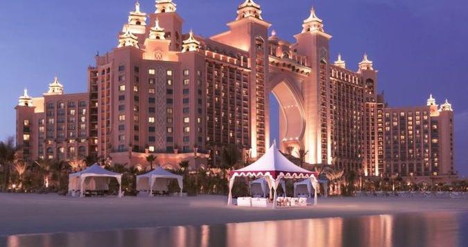 пляжные отели в Дубае 5 звезд