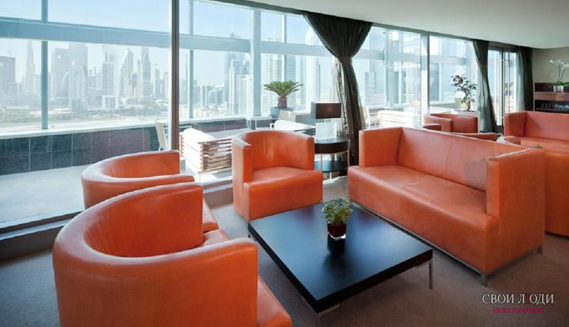 Отель Jumeirah Living World Trade Centre Residence 5*