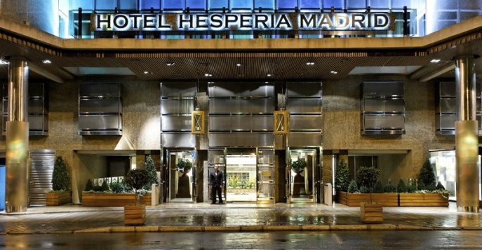 Отель Hesperia Madrid 5*