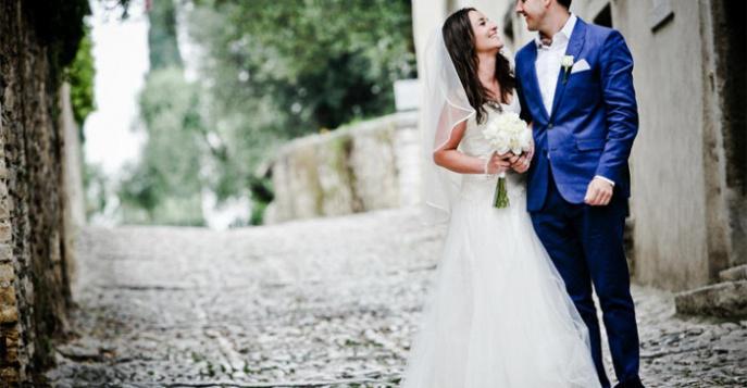 Романтическая свадьба в Вероне