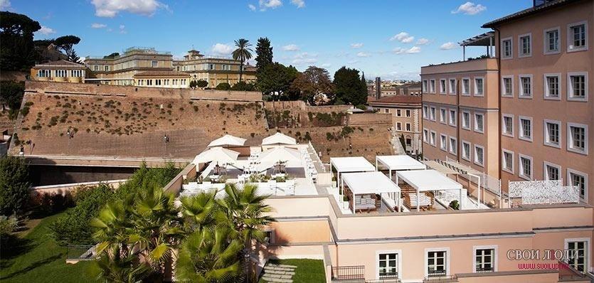 Gran melia rome villa agrippina 5 l for Hotel gran melia rome villa agrippina