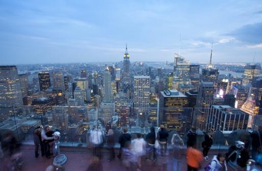 Смотровая площадка Top of the Rock - Нью-Йорк, США