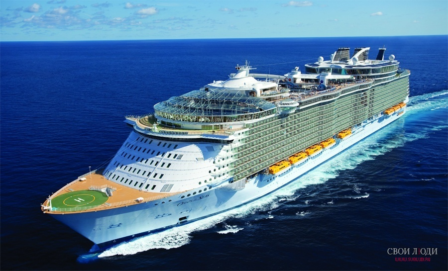 ����� �� ������� � ����������� ������� �� ������� Oasis of the Seas