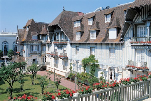 Отель Normandy Deauville Barriere 4*, Франция