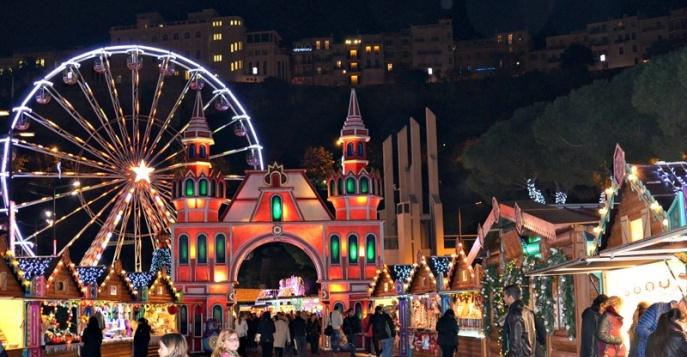 Семейный отдых в Монако на Рождество и Новый год