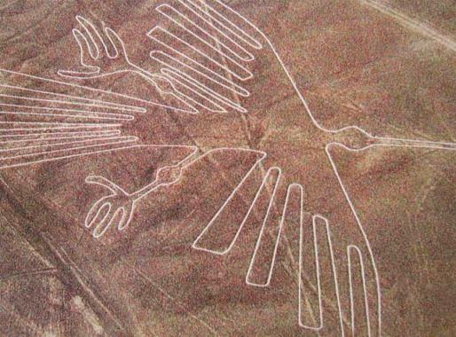 Геоглифы в пустыне Наска, Перу