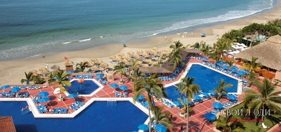 Отель Barcelo Ixtapa Beach Resort 5*