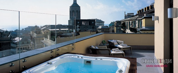 Отель Bentley Hotel Genova 5*