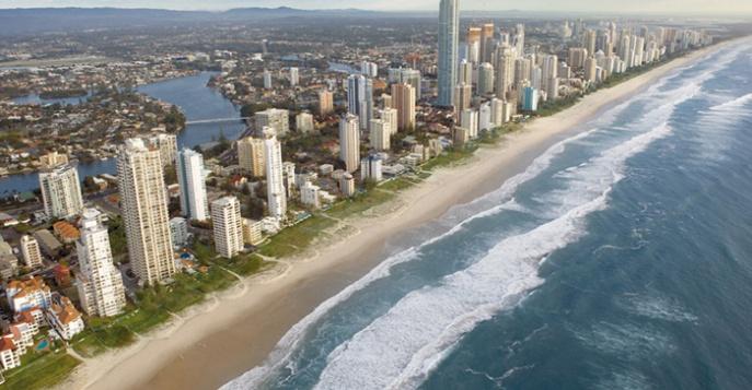 Золотое побережье австралии райский