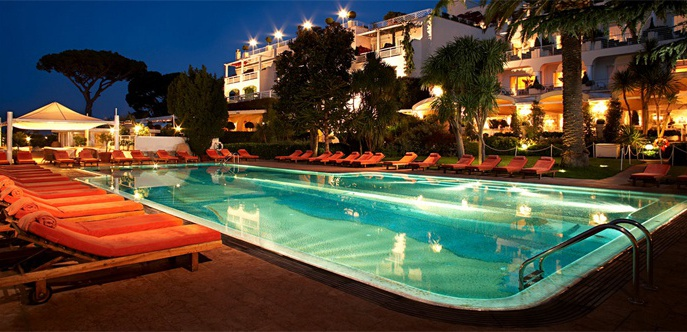 Отель Capri Palace & Spa 5*Luxe
