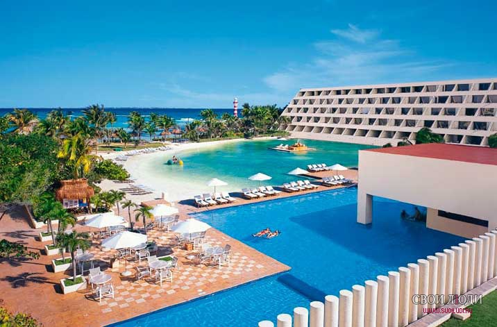 Отель Dreams Cancun Resort & Spa 5*