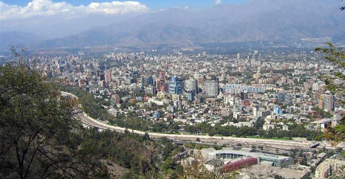 Город Сантьяго – столица Чили