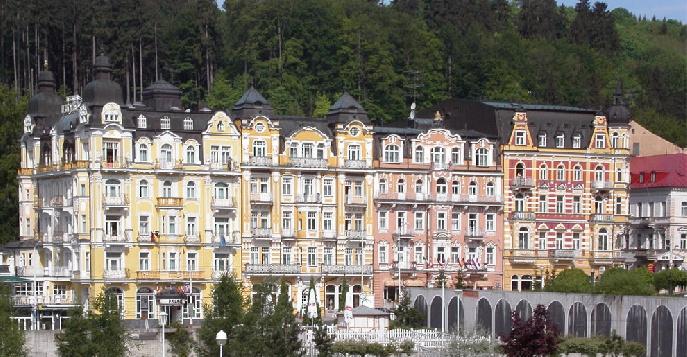 Города и курорты чехии