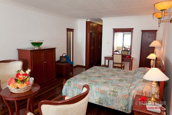 Отель La Digue Island Lodge 4*